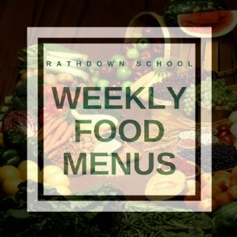 Menus for the week of the 11th November